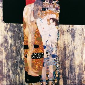 Canvas schilderij Die drei Lebensalter