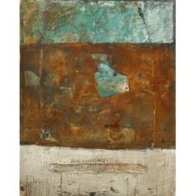 Canvas schilderij Patina Verde 1