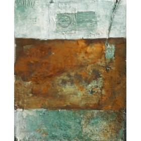 Canvas schilderij Patina Verde 2
