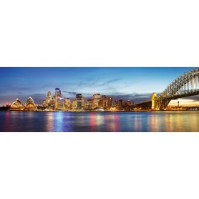 Canvas schilderij Hafen von Sydney