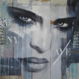 Canvas schilderij Wandering through NY Avenue