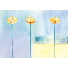 Canvas schilderij Poppy Dreams II