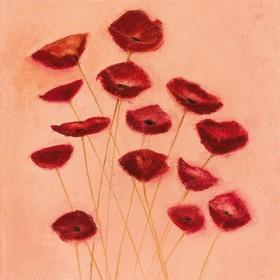 Canvas schilderij Poppy Song