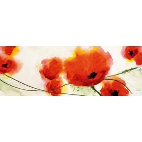 Canvas schilderij Flying Red