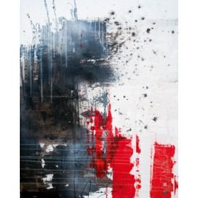 Canvas schilderij composition of pieces