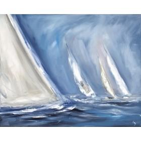 Canvas schilderij Wind blows