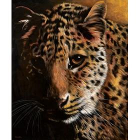 Canvas schilderij Leopard