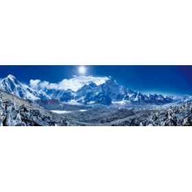 Canvas schilderij Everest View