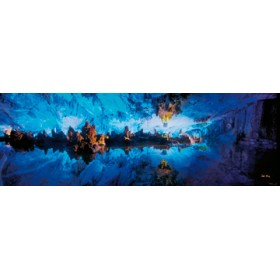 Canvas schilderij Cave Melody