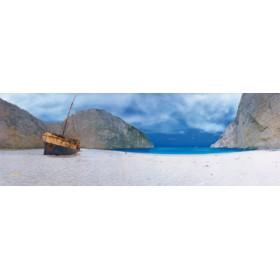 Canvas schilderij Shipwreck Beach I