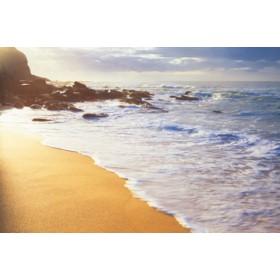 Canvas schilderij Morning waves
