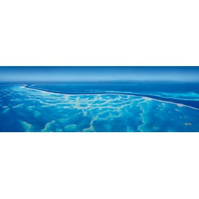 Canvas schilderij Great Barrier Reef III