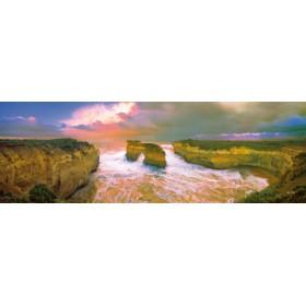 Canvas schilderij Loch Ard Gorge