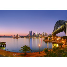 Canvas schilderij Milson Point Morning