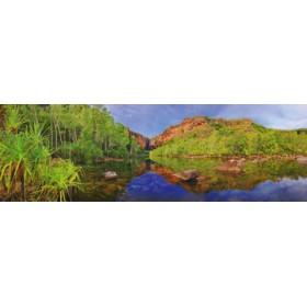 Canvas schilderij Jim Jim Falls