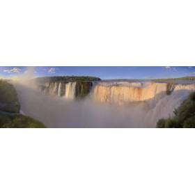 Canvas schilderij Iguazu Falls