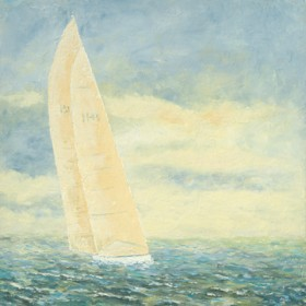 Canvas schilderij Sailpower