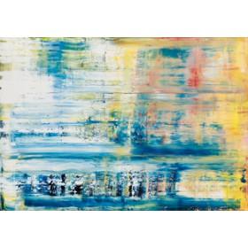 Canvas schilderij Riflesso solare