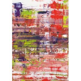 Canvas schilderij Astratto Rosso