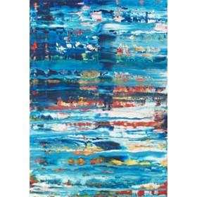 Canvas schilderij Astratto Azurro