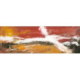 Canvas schilderij Massai