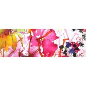 Canvas schilderij Pink Flowers 1