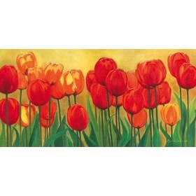 Canvas schilderij Frühlingsgarten