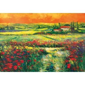 Canvas schilderij Toskana