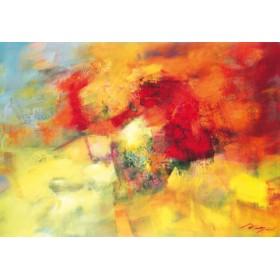 Canvas schilderij Coloring II