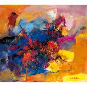 Canvas schilderij Coloring III