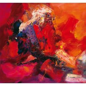 Canvas schilderij Coloring IV