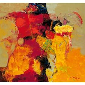 Canvas schilderij Coloring V
