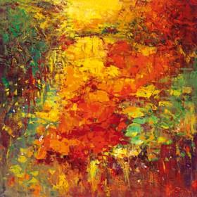 Canvas schilderij Idyll II