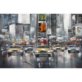 Canvas schilderij Taxi I