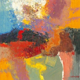 Canvas schilderij Abstract I