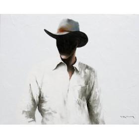Canvas schilderij Cowboy II
