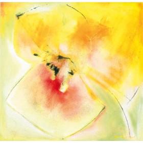 Canvas schilderij Yellow Bloom