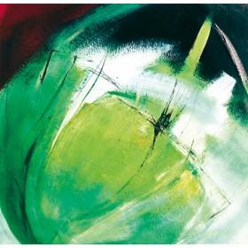 Canvas schilderij Green Bloom