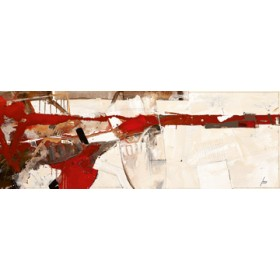 Canvas schilderij Hab' zu spüren mich getraut