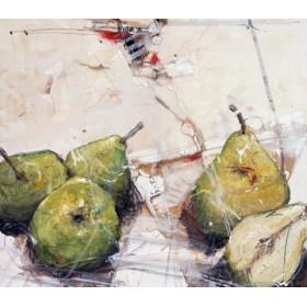 Canvas schilderij Birnenkomplott