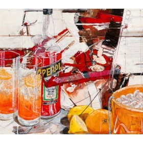 Canvas schilderij Aperol