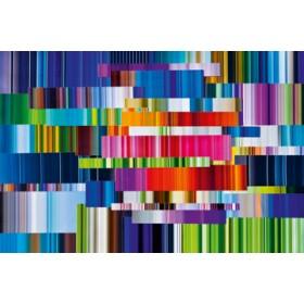 Canvas schilderij Lichtlinien 708