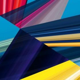 Canvas schilderij Lichtlinien 399