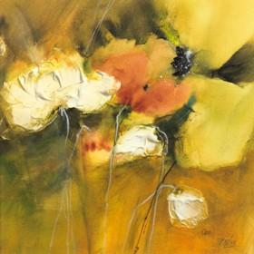 Canvas schilderij Im Garten