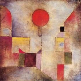 Canvas schilderij Roter Ballon