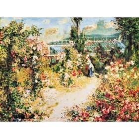 Canvas schilderij La Serre