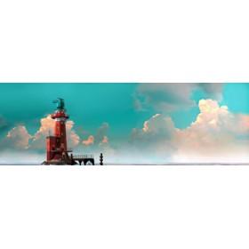 Canvas schilderij Hoher Weg Panorama 2