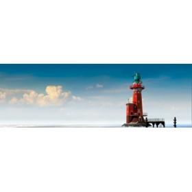 Canvas schilderij Hoher Weg Panorama 1