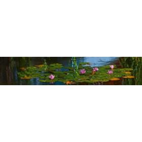 Canvas schilderij Seerosen II