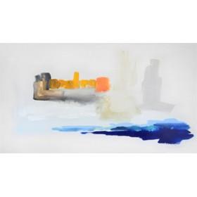 Canvas schilderij Mehrere Sonnen